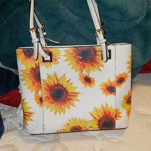 Calvin Klein sunflower purse